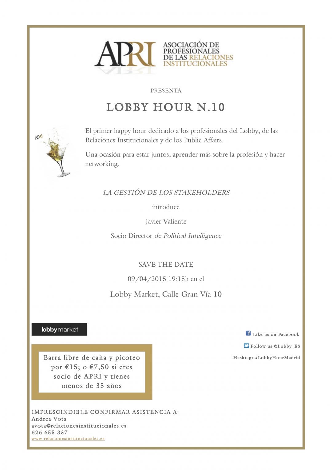 #LobbyHour N.10