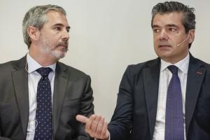 Juan Jesús García (Amadeus IT) y Emilio Gallego (FEHR)