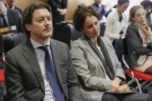 Pedro Fernández, Vicepresidente APRI, y Ana Ramos (BAT)