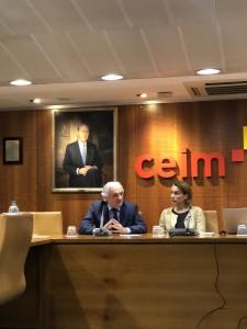 Miguel Garrido, Secretario General CEIM