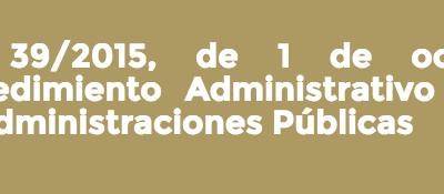 Las novedades sobre participación ciudadana de la Ley 39/2015