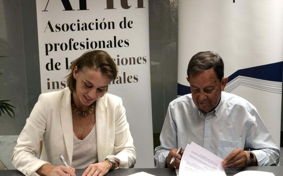 APRI y la Asociación Española de Protocolo (AEP) firman un convenio de colaboración