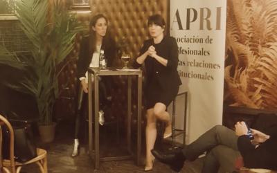 Coloquio sobre public affairs con Yolanda Román